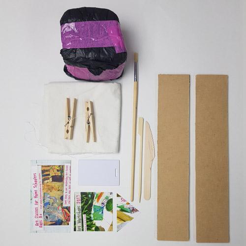 Christmas Clay Kit ingredients