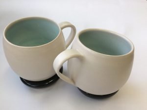 Cups and saucers - stoneware