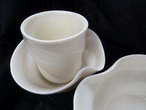 Water Eddies Series - porcelain set