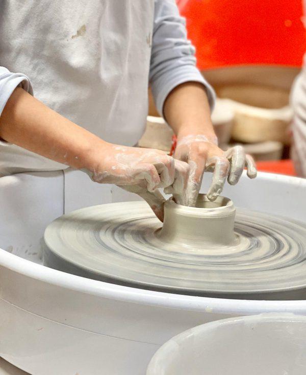 Homeschool pottery